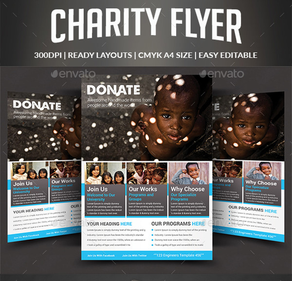 29+ Fundraising Flyer Templates - PSD, Vector EPS, JPG Download
