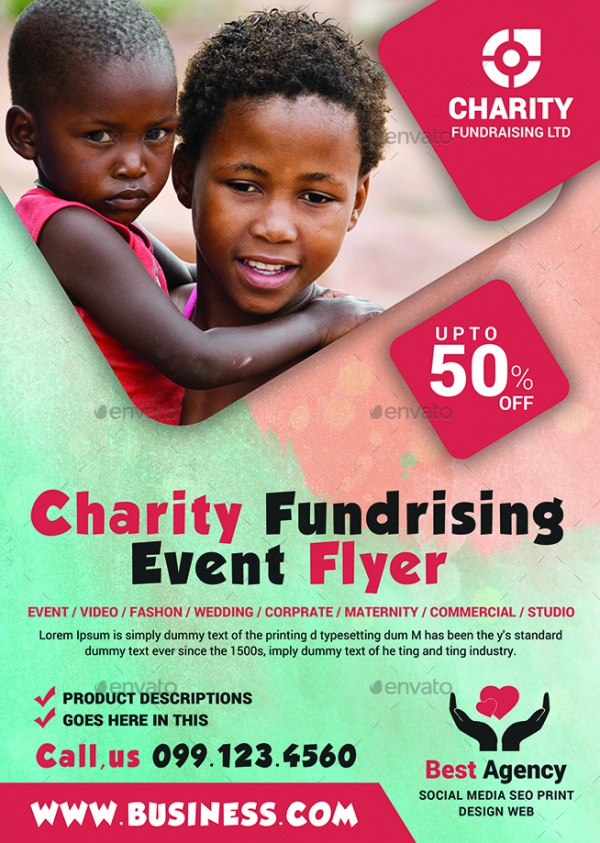 25+ Charity Flyer Templates - PSD, Vector EPS, JPG Download