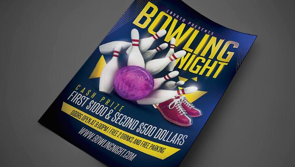23+ Bowling Flyer - PSD, Vector EPS, JPG Download FreeCreatives