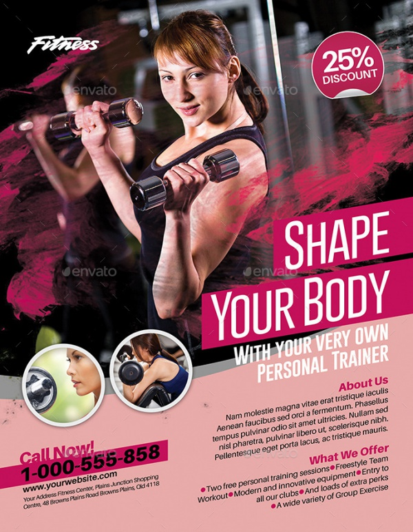 35+ Fitness Flyer Templates - PSD, Vector EPS, JPG Download