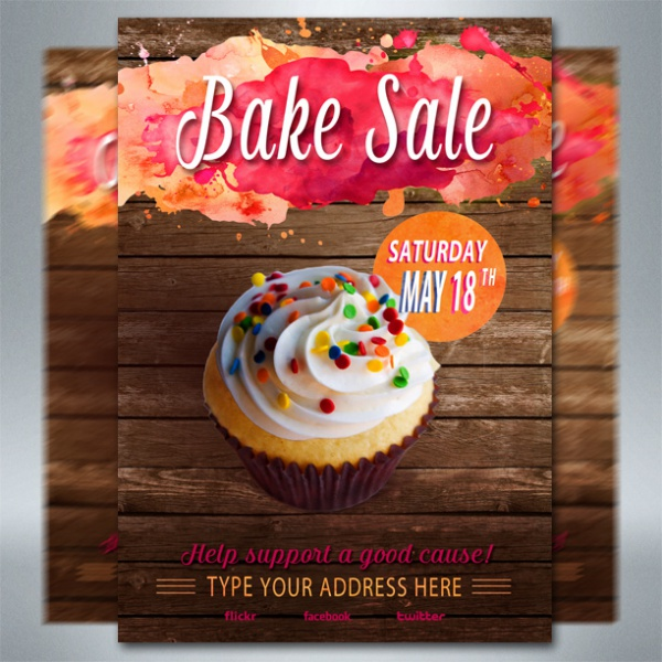 bake sale flyer ideas