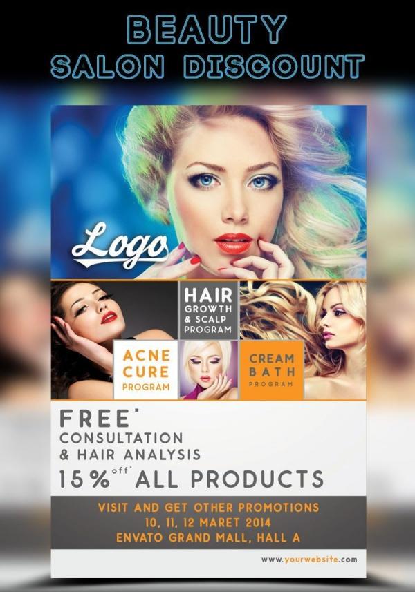 22+ Salon Flyer Templates - PSD, Vector EPS, JPG Download - discount flyer template