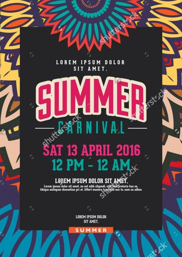 25+ Carnival Flyers - PSD, Vector EPS, JPG Download FreeCreatives