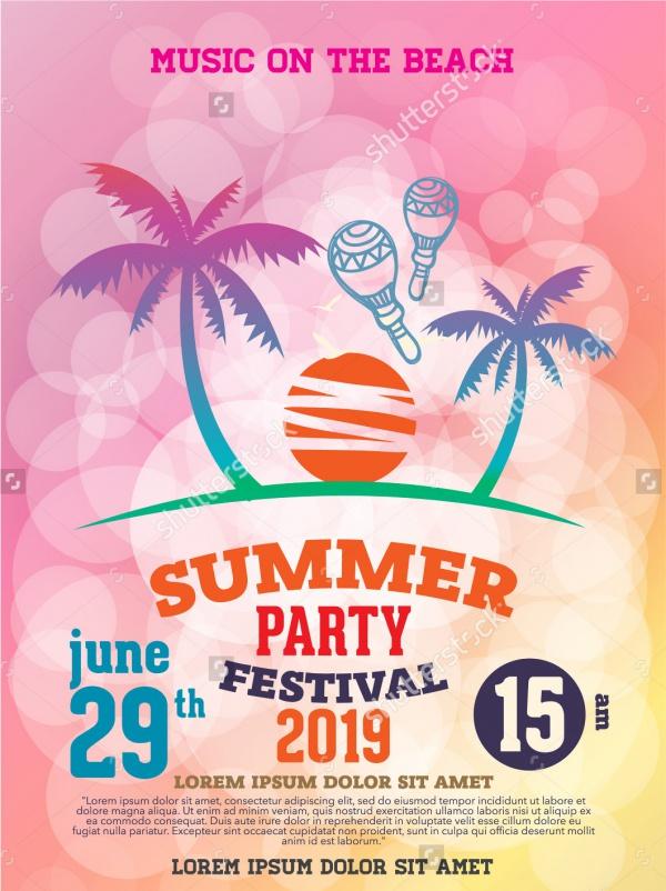 18+ Summer Party Invitations - PSD, Vector EPS, JPG Download