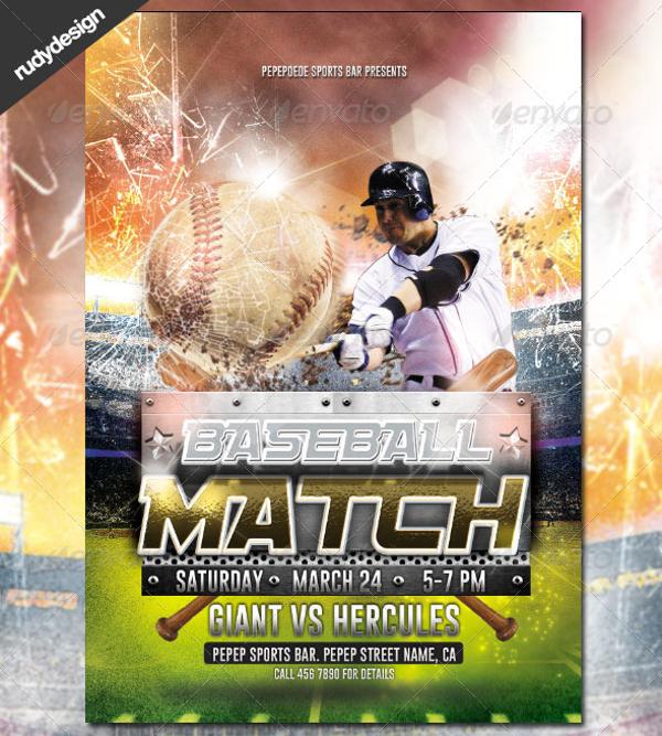 25+ Baseball Flyers - PSD, Vector EPS, JPG Download FreeCreatives - Baseball Flyer