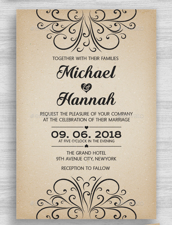 32+ Engagement Invitation PSD Designs  Creatives - PSD, Word, AI