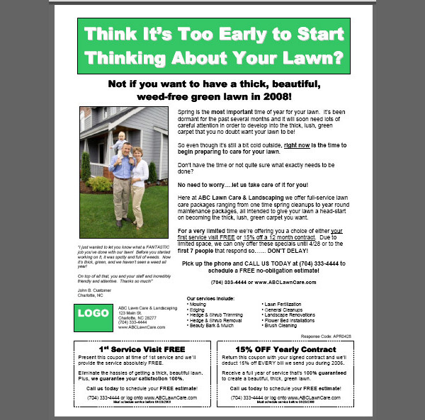 20+ Lawn Care Flyers - PSD, Vector EPS, JPG Download FreeCreatives - free landscape flyer templates