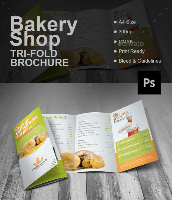 free download tri fold brochure template