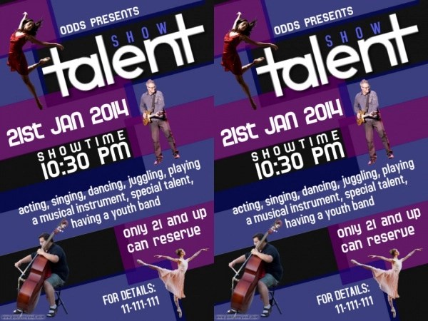 22+ Talent Show Flyers - PSD, Vector EPS, JPG Download FreeCreatives - competition flyer template