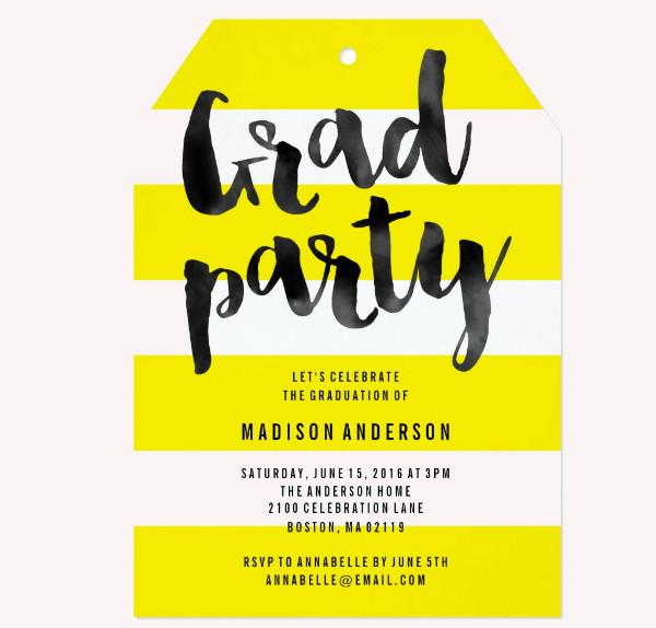 21+ Graduation Party Invitations - PSD, AI Illustrator Download - invitations graduation