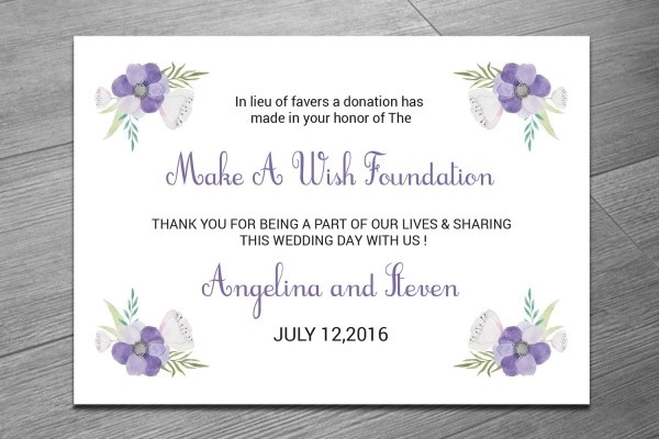 22+ Donation Card Designs - PSD, Vector EPS, JPG Download - donation card template
