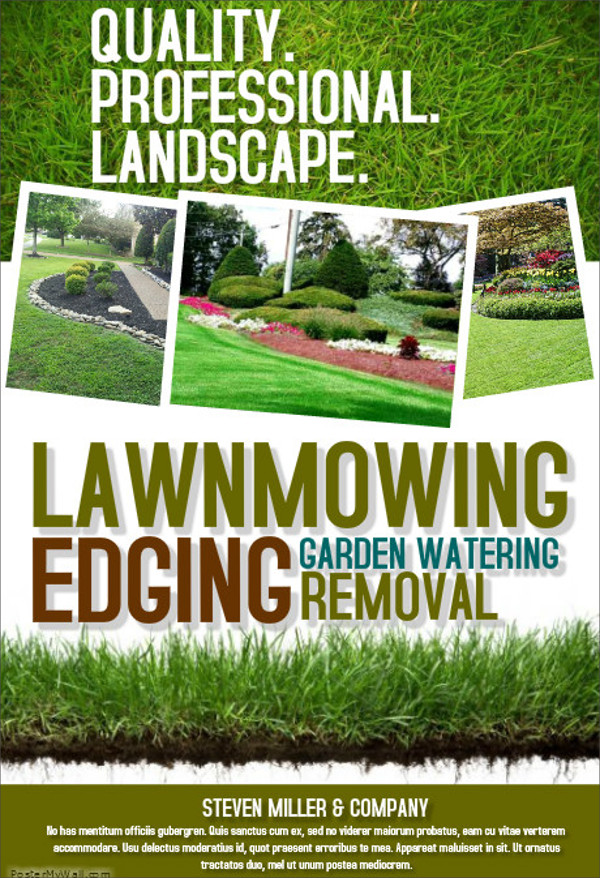 20+ Lawn Care Flyers - PSD, Vector EPS, JPG Download FreeCreatives
