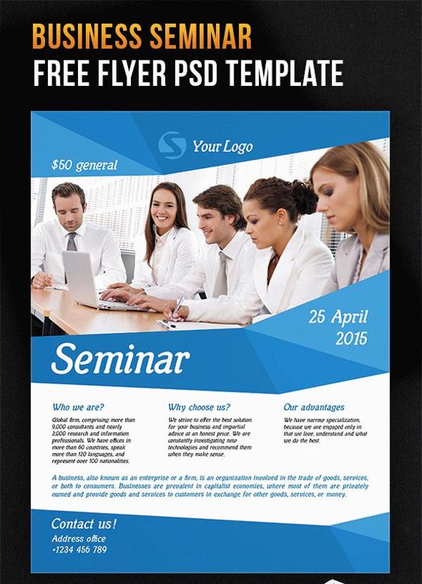 Seminar Templates Free | colbro.co