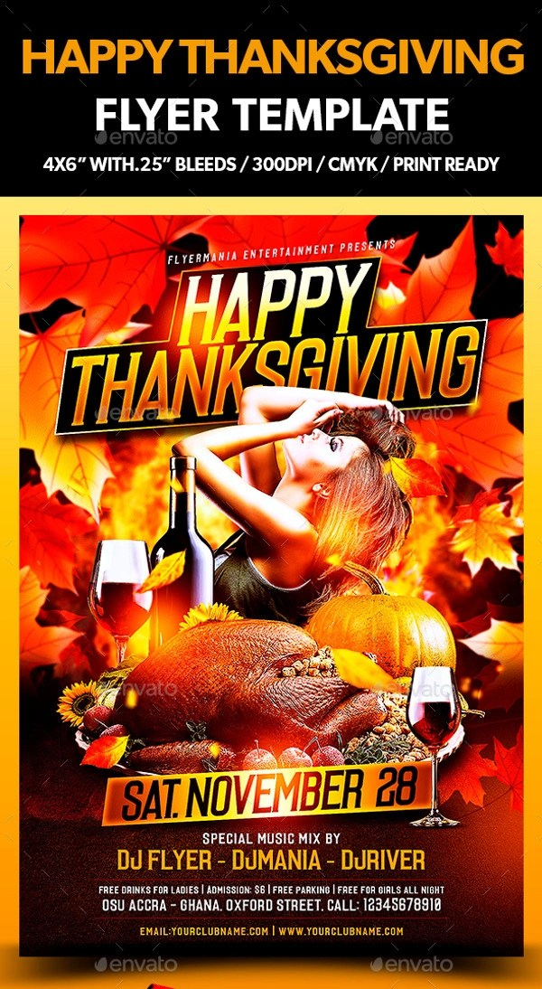 21+ Thanksgiving Flyer Designs - PSD, JPG, AI Illustrator Download