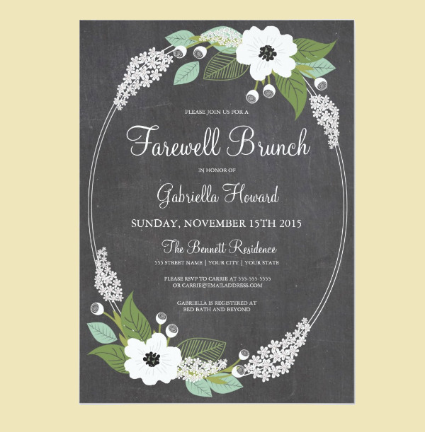 farewell lunch invitation Invitationsweddorg