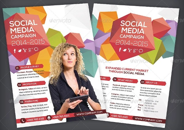 20+ Social Media Flyers - PSD, AI Illustrator Download - campaign flyer template
