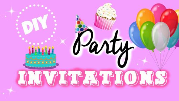 27+ Printable Party Invitation Designs  Ideas - JPG, Vector EPS, AI