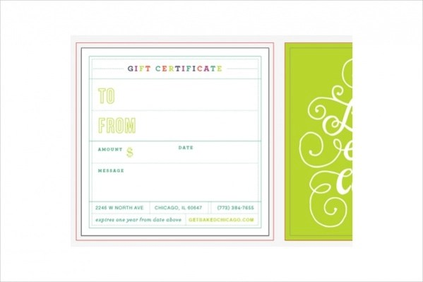 16+ Free Gift Certificates - PSD, Vector EPS Download