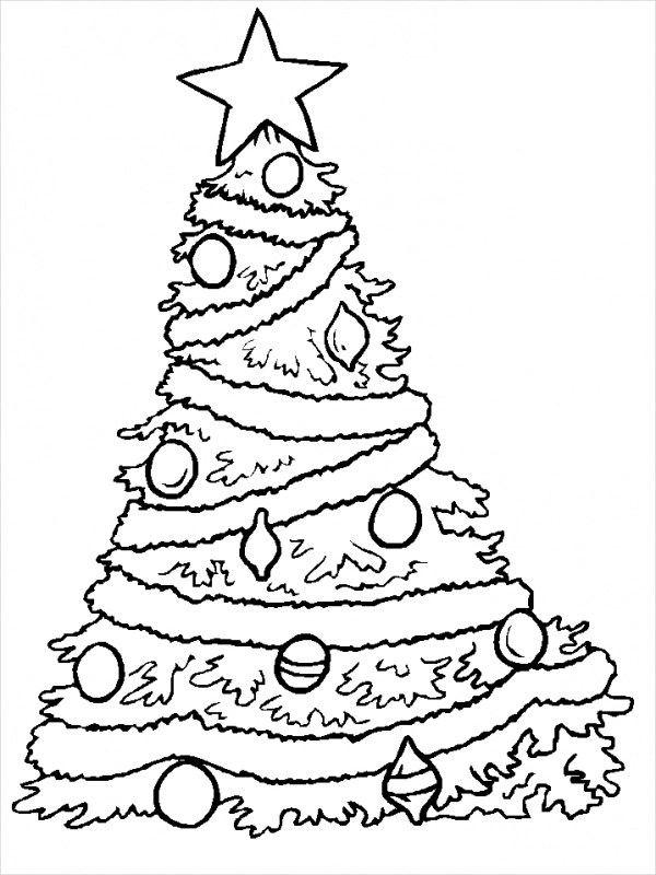 15+ Free Printable Christmas Coloring Pages - PDF Download