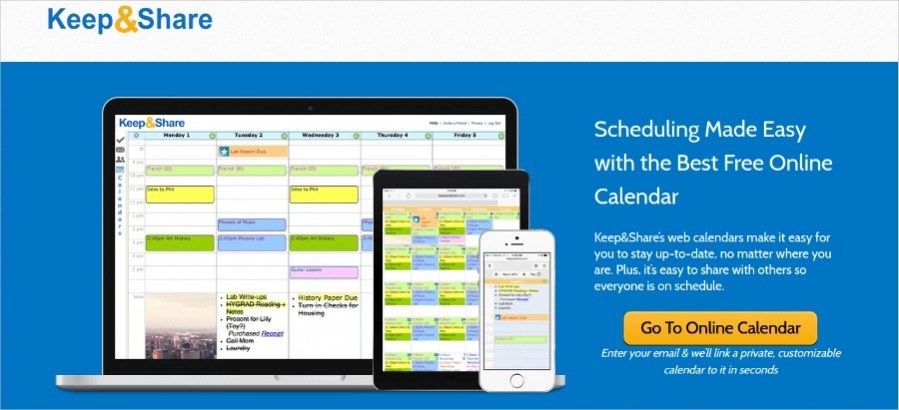 19 Free Online Calendar Makers - making schedules online