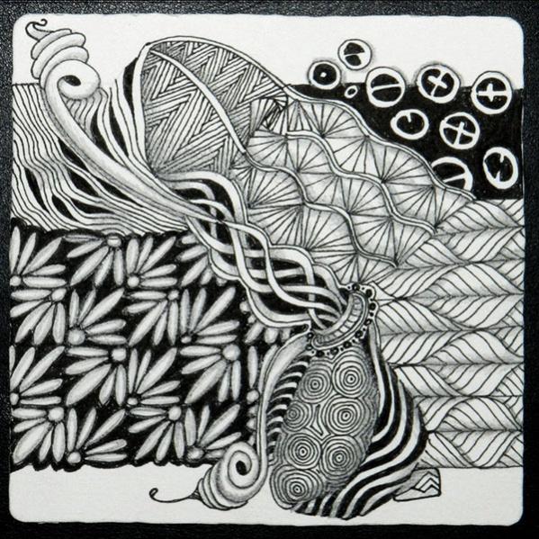 19+ Zentangle Patterns - JPG, PSD, AI Illustrator Download