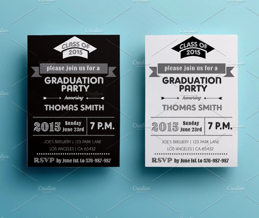 20+ Graduation Party Invitations - JPG, PSD, AI Illustrator Download - graduation party invitations