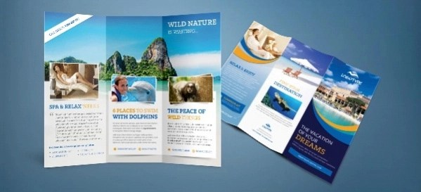 tri fold travel brochure example vatozatozdevelopment45 travel