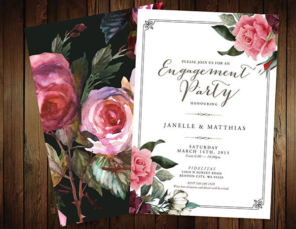 19+ Engagement Party Invitation - PSD, Vector EPS, AI Illustrator - free engagement party invites