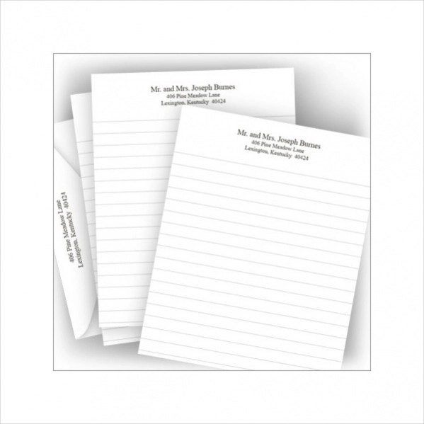 Modern Free Printable Lined Stationary Gift - Resume Ideas - bayaarinfo - free printable lined stationary