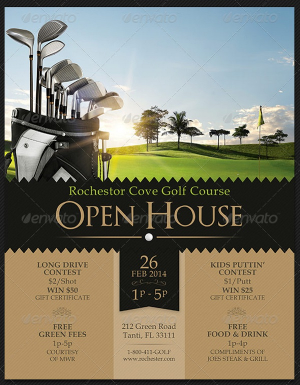 18+ Open House Flyers - PSD, Vector EPS Download