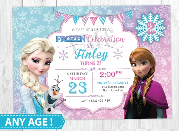 27+ Printable Birthday Invitations for You - JPG, Vector EPS, AI