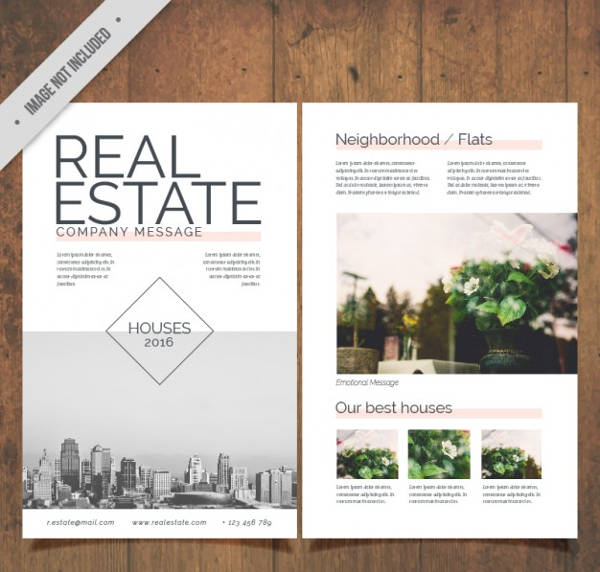 Flyer Erstellen In Word 28+ Modern Real Estate Flyer Designs - Word, Ai, Psd, Eps