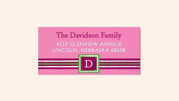 8+ Free Address Labels