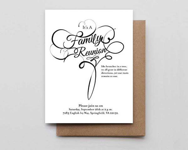 9+ Family Reunion Invitations - JPG, Vector EPS, Ai Illustrator Download - invitations for family reunion