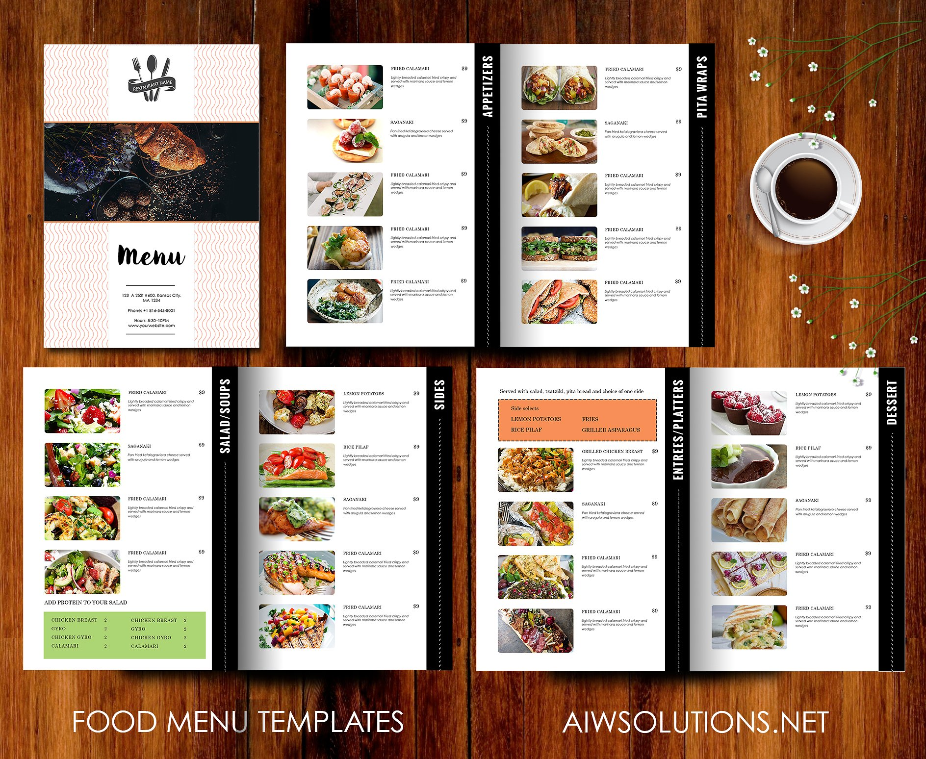 9 Essential Restaurant Menu Design Tips
