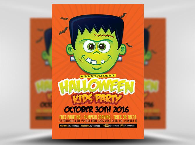 7+ Kid\u0027s Party Flyer Designs - Free Editable PSD, AI, Vector EPS