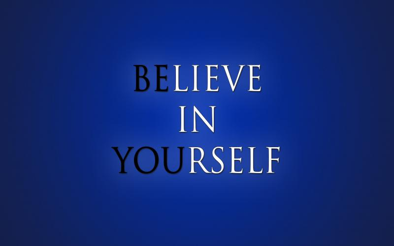 Good Morning Quotes Hd Wallpaper Download Hd Believe In Yourself Wallpaper Download Free 93147