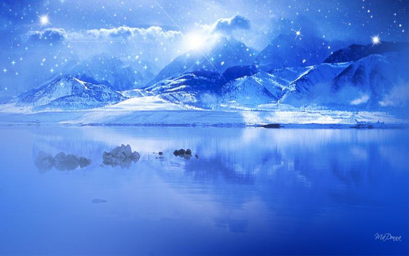 Mountain Rocks Wallpaper Hd 3d Hd Blue Winter Wallpaper Download Free 91835