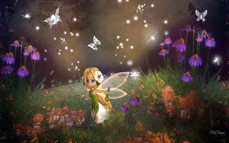 Cute Merry Christmas Wallpaper Backgrounds Hd Tiny Garden Fairy Wallpaper Download Free 83150