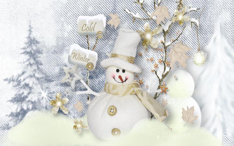 Cute Pink Snowman Wallpaper Hd Winter Fun Snowman Wallpaper Download Free 91945