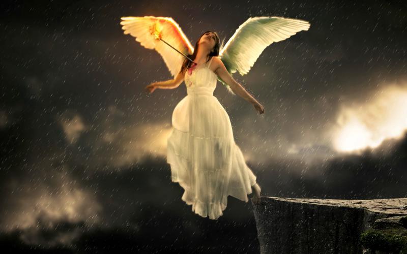 Girl Good Night Wallpaper Hd Sad Angel Wallpaper Download Free 78915