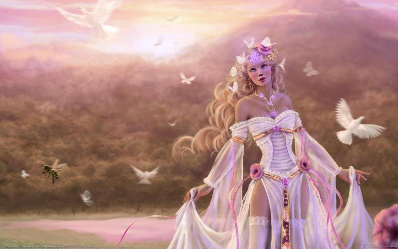 Bollywood 3d Wallpaper Hd Light Sorceress Wallpaper Download Free 97257