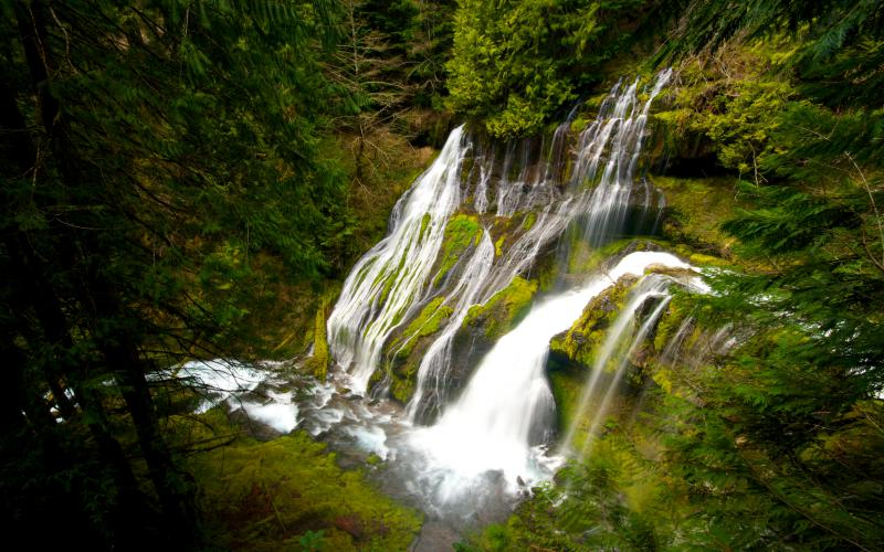 Cute Animated Merry Christmas Wallpaper Hd Panther Creek Falls Skamania County Washington