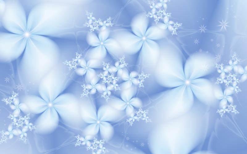 3d Snow Falling Wallpaper Hd Winter Flowers Wallpaper Download Free 82463
