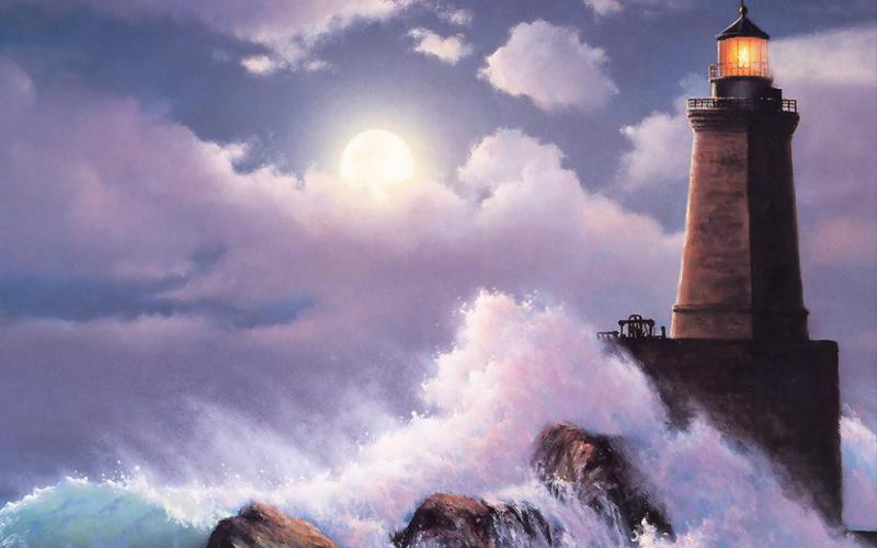 Sad Girl Wallpaper Hd New Hd Lighthouse In Storm Wallpaper Download Free 105706