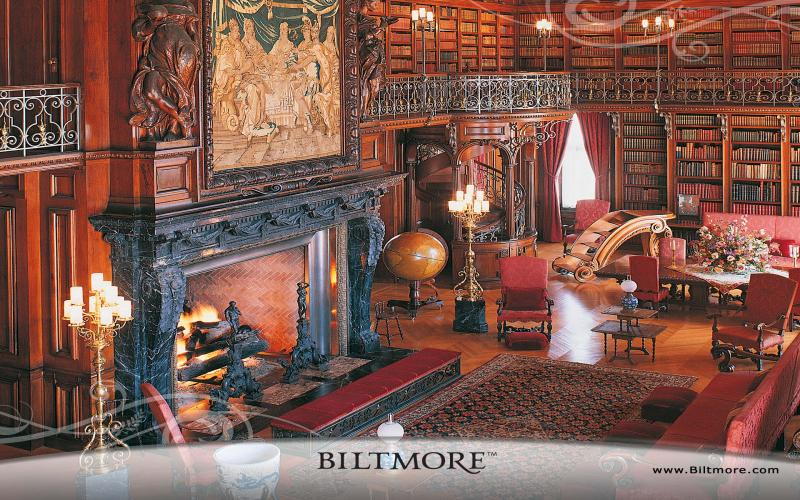 Good Night 3d Moving Wallpaper Hd Biltmore House Library Wallpaper Download Free 122663