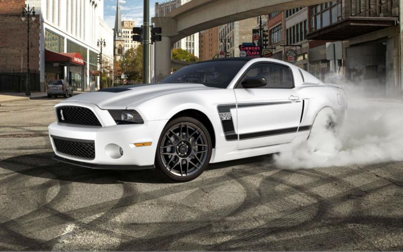 Animated Happy New Year D Hd Ford Mustang Burnout Wallpaper Download Free 134651
