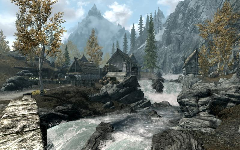3d Animated Nature Wallpaper Free Download Hd Skyrim Ivarstead Wallpaper Download Free 135527