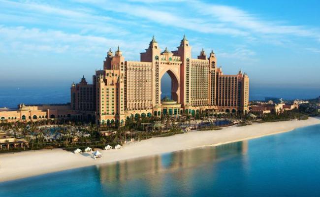 Hd Landscapes Atlantis Dubai Skyscapes Palm Jumeirah Wide Wallpaper Download Free 142749