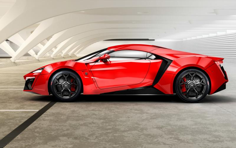 Good Night 3d Moving Wallpaper Hd Lykan Hypersport W Motors Red Side View Wallpaper